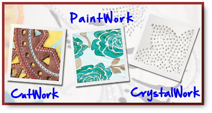 BERNINA PaintWork, CutWork, CrystalWork